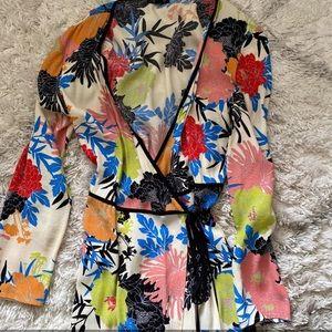Topshop Floral Wrap Dress!